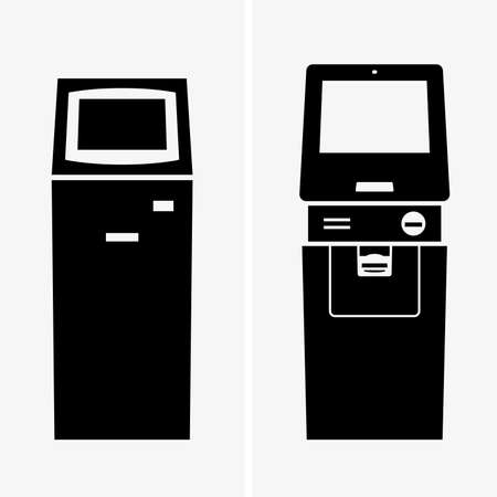 automatic teller: Automatic teller machines, shade pictures