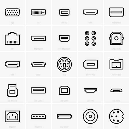 interface icons Stok Fotoğraf - 57264551