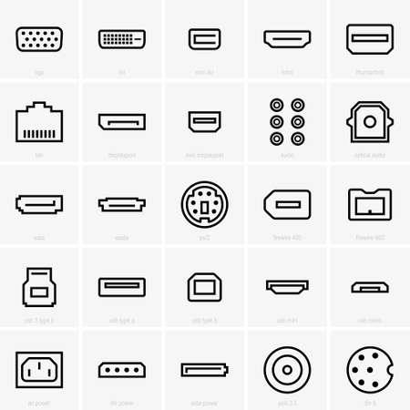 vga: interface icons