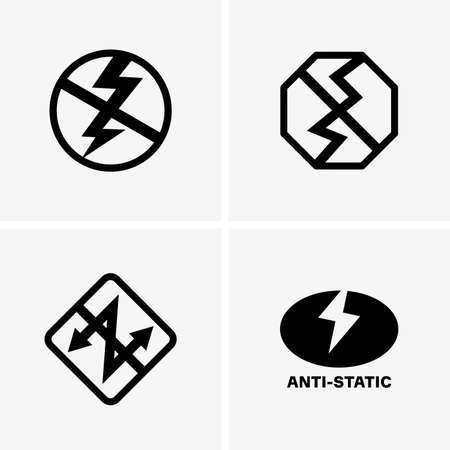 Anti-static icons