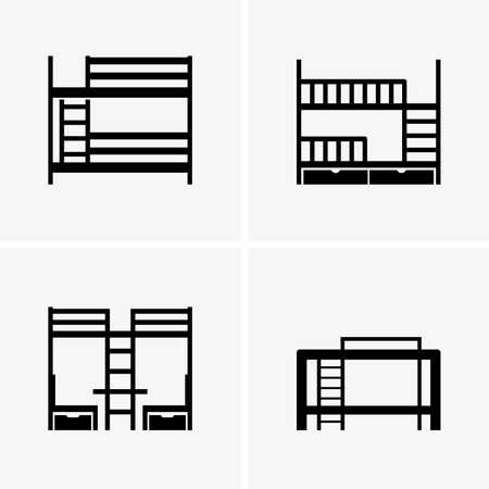 bunk bed: bunk beds