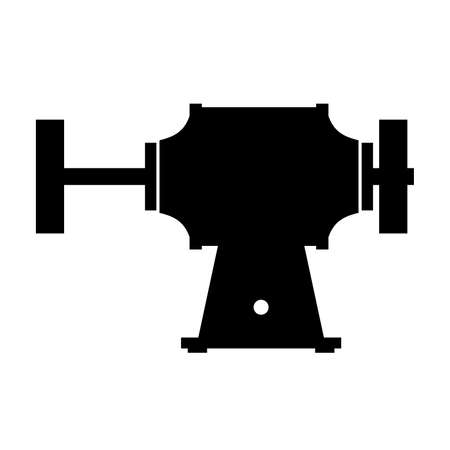 grinder: Grinder machine, shade picture Illustration