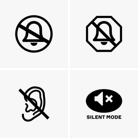 silent: Silent mode signs