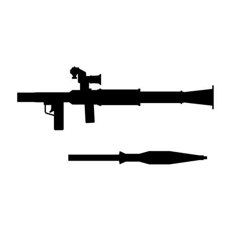 grenade: Grenade launcher, shade picture Illustration