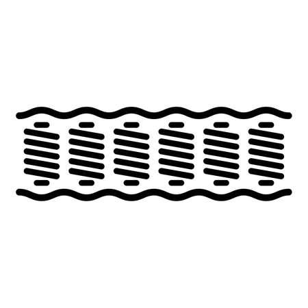 mattress: spring mattress