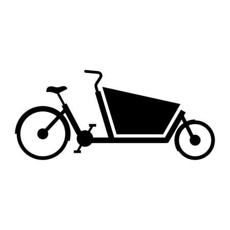Cargo bike, shade picture
