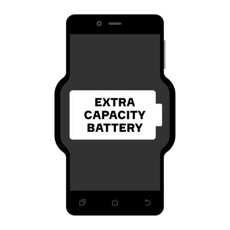 capacity: Smart phone with an extra capacity battery