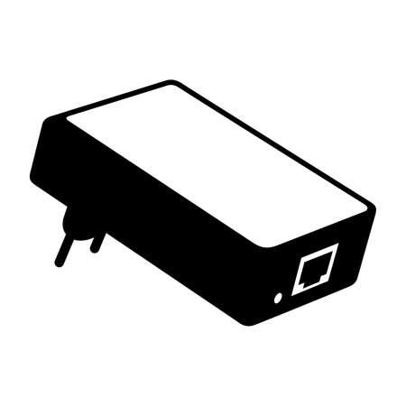 adapter: Power over adapter Illustration