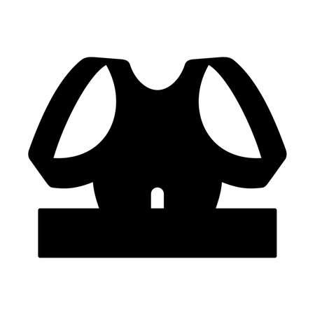 corrector: Magnetic back shoulder posture corrector, shade picture Illustration