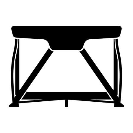 portable: Portable bassinet, shade picture Illustration