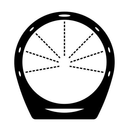 the loop: ducha circuito circular Vectores