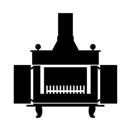 gas fireplace: Fireplace, shade picture