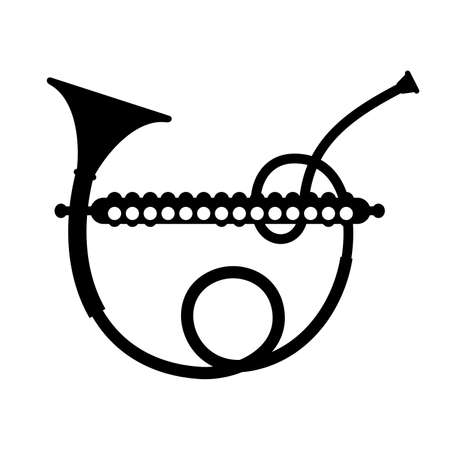 oboe: Harmonicor, musical instrument, shade picture