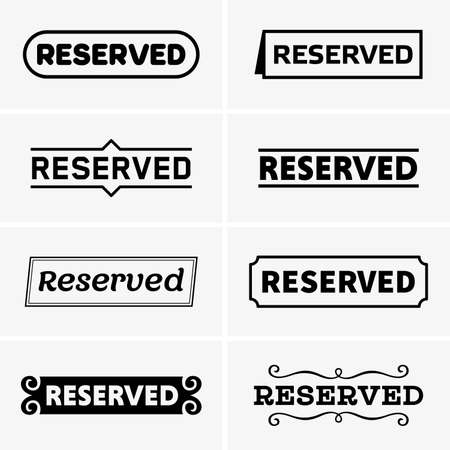 reservations: Reserved tags