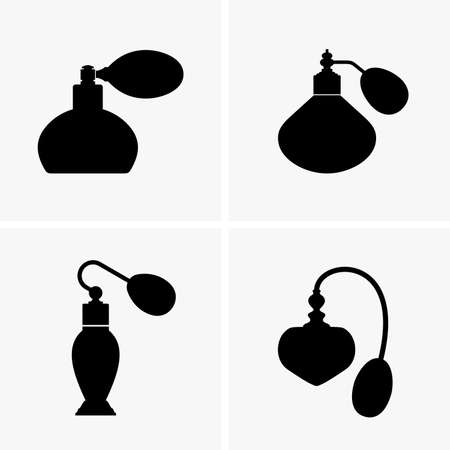 perfume bottle: Sprayers with perfume, shade pictures