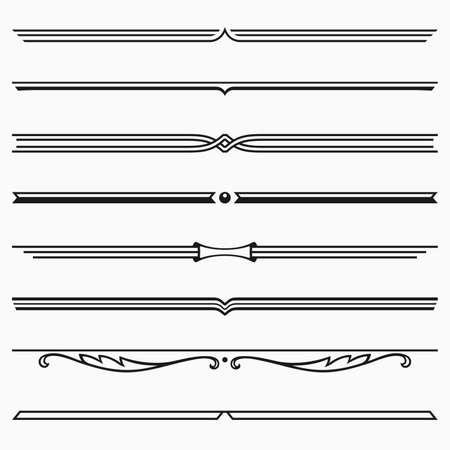 dividers: dividers Illustration