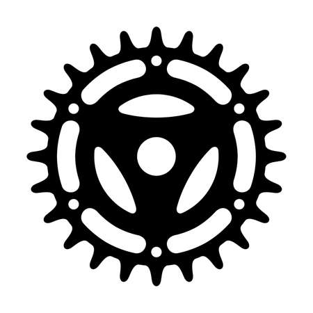 gear symbol: Sprocket, shade picture