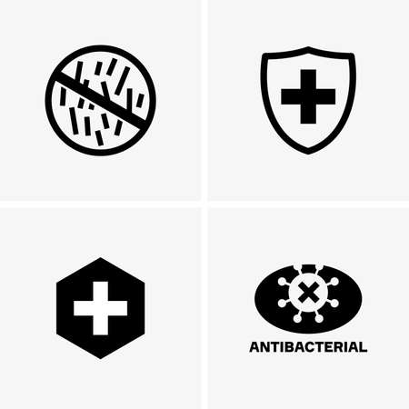 Antibacterial: Antibacterial signs Illustration
