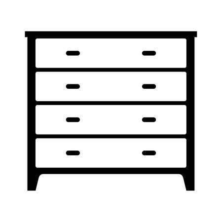 dresser: stenciled dresser