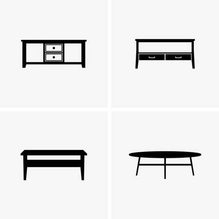 coffee: coffee tables Illustration
