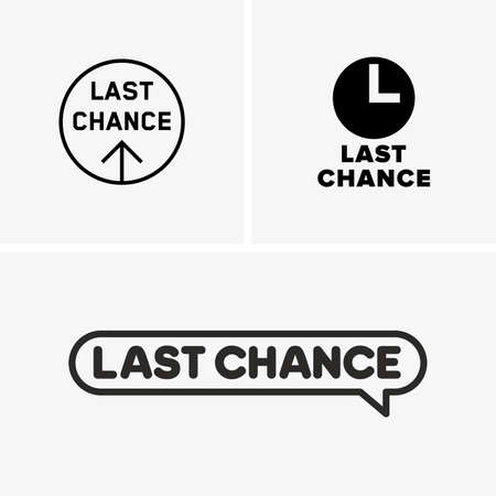 last chance: Last chance symbols