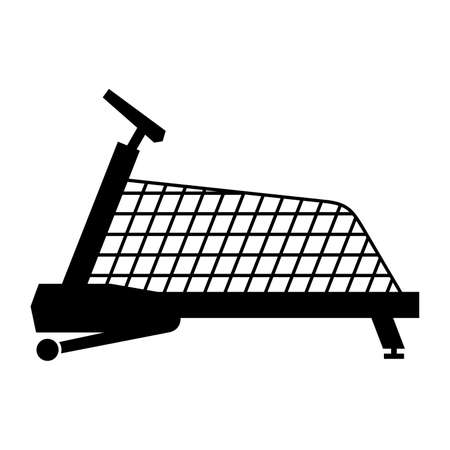canine: Canine treadmill Illustration