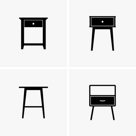 a side: side tables