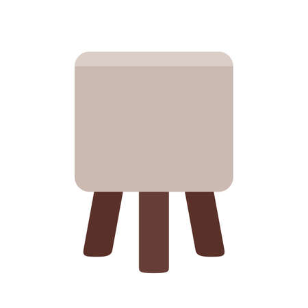 comfortable: Comfortable compact chair Illustration