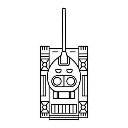 tanks: Tank (top view) Illustration