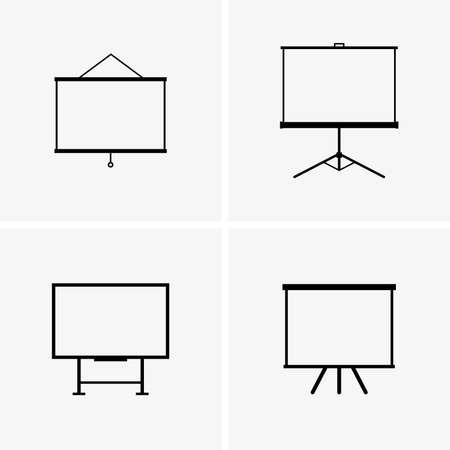 presentation screen: Projector screens