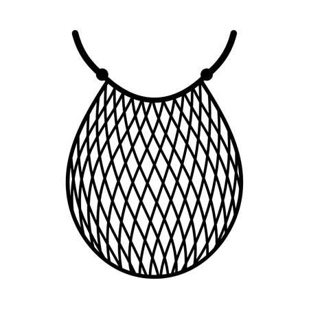 string bag Illustration