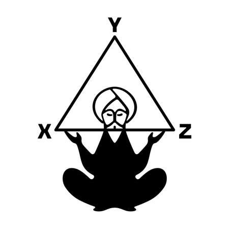 pensador: Ancient pensador  Vectores