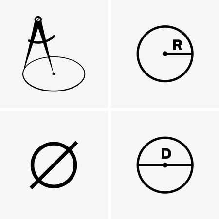 Radiuses and diameters