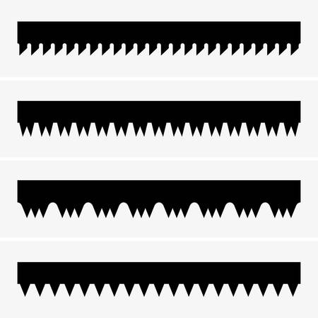 constrution: Saw teeth, shade pictures