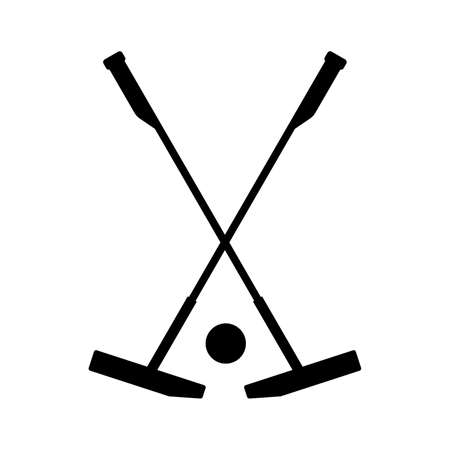 Equipment for polo  イラスト・ベクター素材