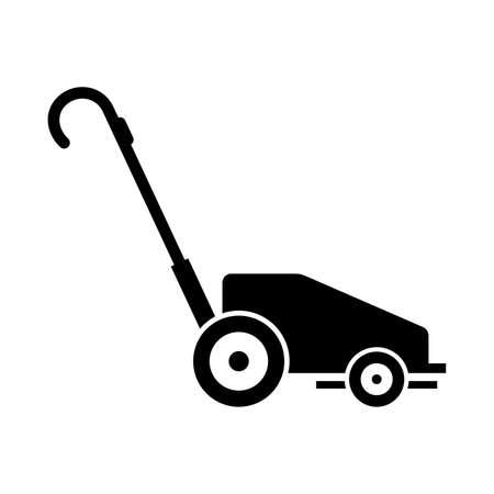 yard sign: lawn mower