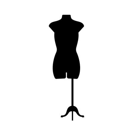 body torso: Mannequin torso Illustration
