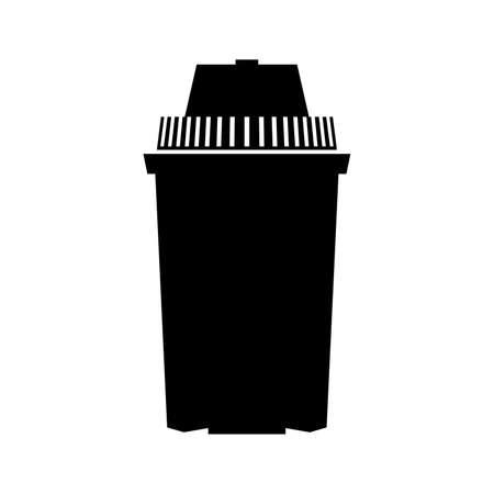 Water filter cartridge Иллюстрация