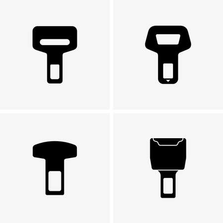 buckles: Safety belt buckles, shade pictures