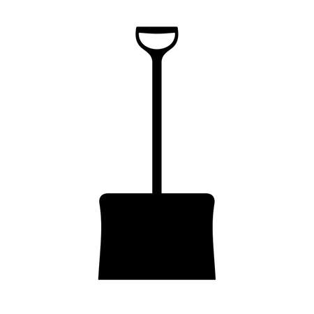 Snow shovel, shade picture