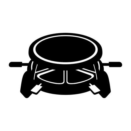 Raclette grill icon