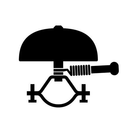 Bike bell icon Stock Illustratie