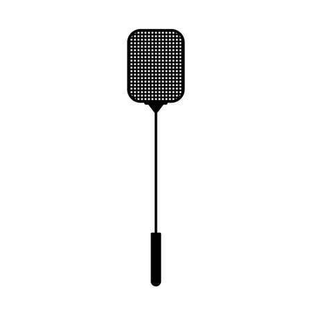 Fly swatter or fly-flap Ilustracja