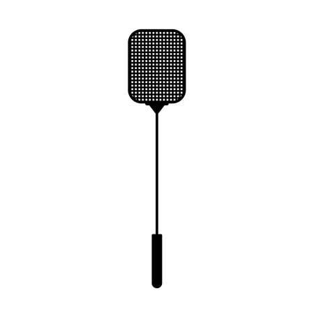 Fly swatter or fly-flap Ilustração