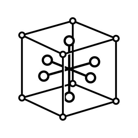 Solid state physics symbol