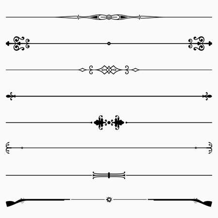 Set of decorative dividers