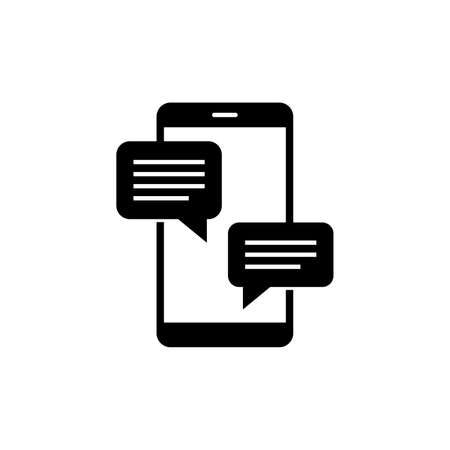 Chat message notifications icon