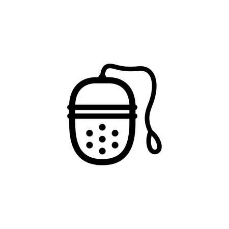 Tea infuser icon