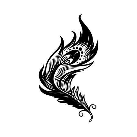Firebird feather icon