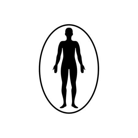 Aura around person icon Ilustrace